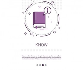 Vector knowledge learning education template 13