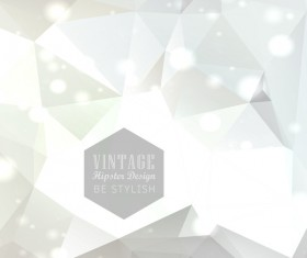 Vintage hipster design vector background