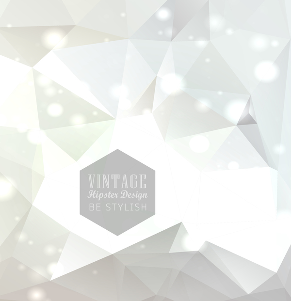 Vintage hipster design vector background