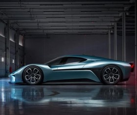 Wei to EP9 electric super running car HD picture