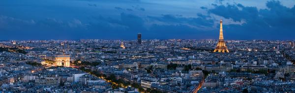World Art Capital Paris Stock Photo 01
