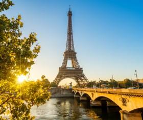World Art Capital Paris Stock Photo 02