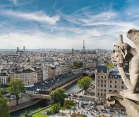 World Art Capital Paris Stock Photo 03