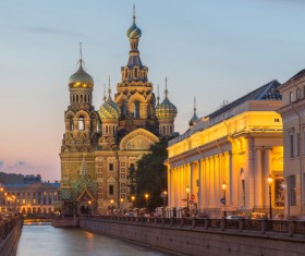 World Cultural Heritage St. Petersburg Stock Photo 01