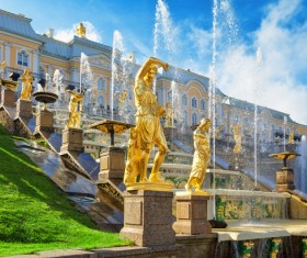World Cultural Heritage St. Petersburg Stock Photo 02
