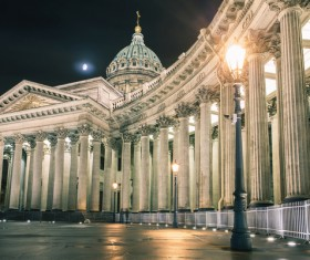 World Cultural Heritage St. Petersburg Stock Photo 03