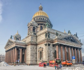 World Cultural Heritage St. Petersburg Stock Photo 04