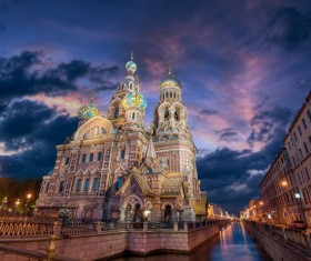 World Cultural Heritage St. Petersburg Stock Photo 07