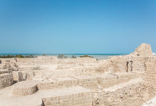 World Heritage List Bahrain Fort Stock Photo 03 free download