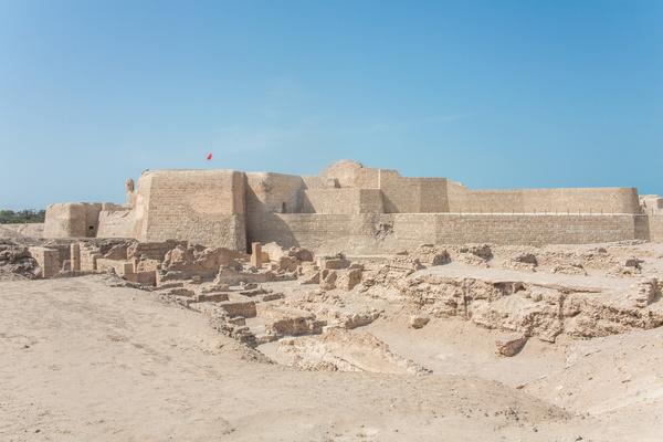 World Heritage List Bahrain Fort Stock Photo 05 free download