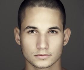 Young man closeup Stock Photo