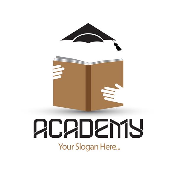 academs logo design vector