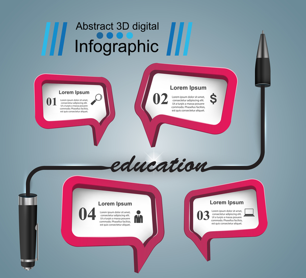 bulb education bubl infographic vector