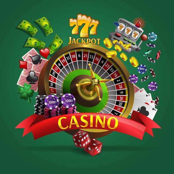 casino background design vector