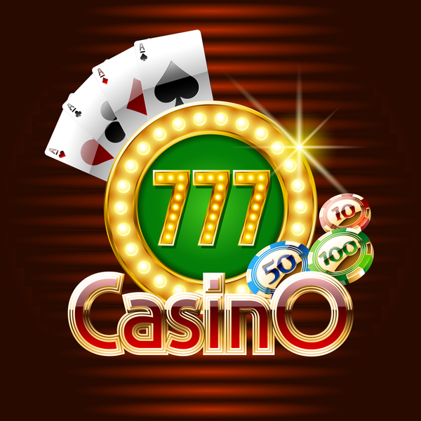 casino combi background vector