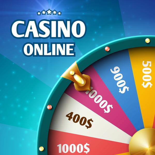 casino online vector background
