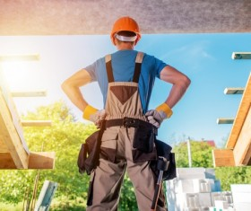 construction worker Stock Photo 01