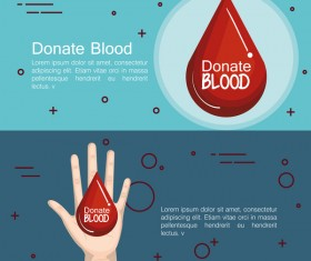 donate blood infogurphic vectors 05