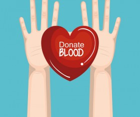 donate blood infogurphic vectors 08