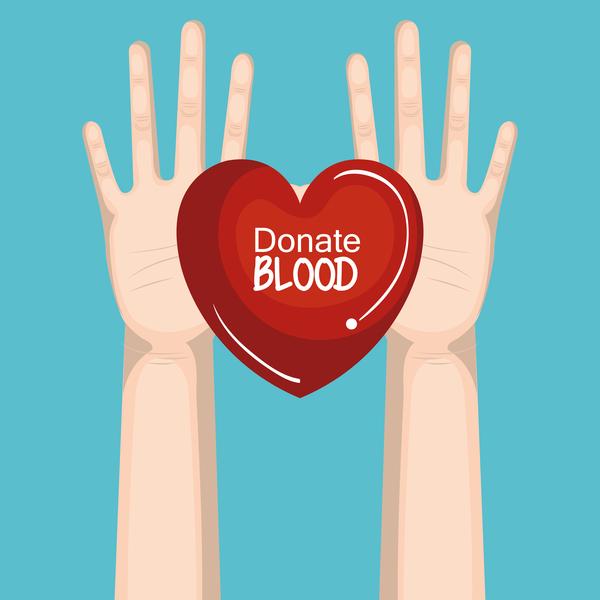 donate blood infogurphic vectors 08