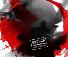 grunge illustration design vector