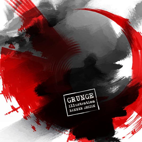 grunge illustration design vector