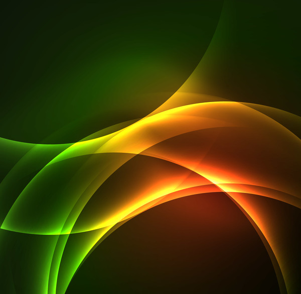 light wavy bright background vector