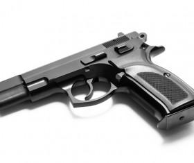 pistol Stock Photo 02