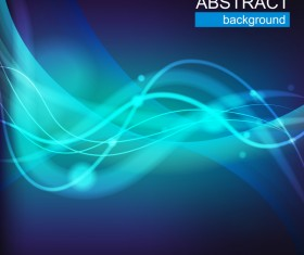 Abstract Blue Background Vector Design