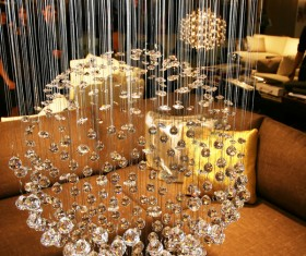 All kinds of chandeliers Stock Photo 01