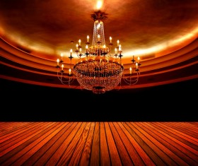 All kinds of chandeliers Stock Photo 03