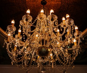 All kinds of chandeliers Stock Photo 07