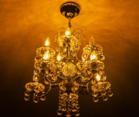 All kinds of chandeliers Stock Photo 09