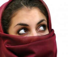 Arab hijab Stock Photo 02
