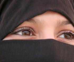 Arab hijab Stock Photo 03
