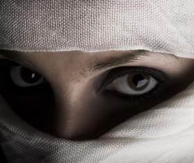 Arab hijab Stock Photo 05