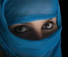 Arab hijab Stock Photo 06