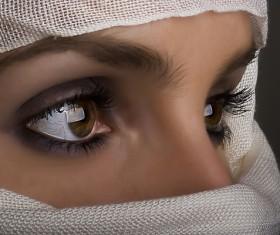 Arab hijab Stock Photo 07