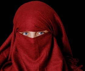 Arab hijab Stock Photo 09