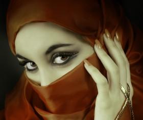 Arab hijab Stock Photo 10