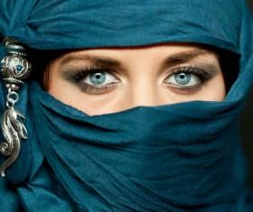 Arab hijab Stock Photo 11