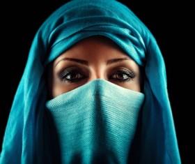 Arab hijab Stock Photo 12