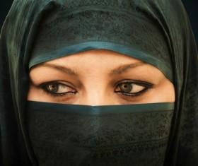 Arab hijab Stock Photo 14