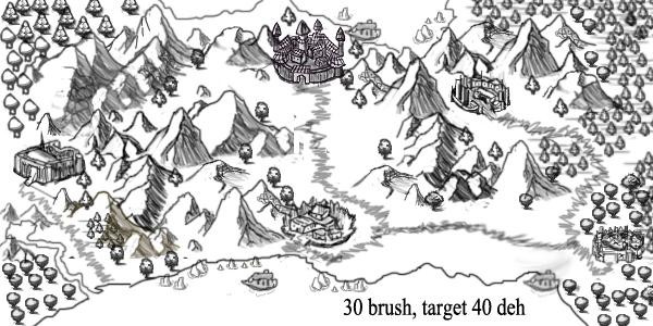 Armament cartography photoshop brushes