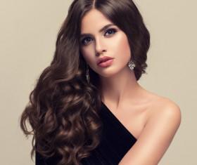 Beautiful hair Beauties model Stock Photo 04