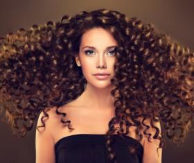 Beautiful hair Beauties model Stock Photo 05