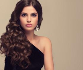 Beautiful hair Beauties model Stock Photo 06