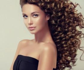 Beautiful hair Beauties model Stock Photo 07
