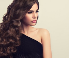 Beautiful hair Beauties model Stock Photo 09