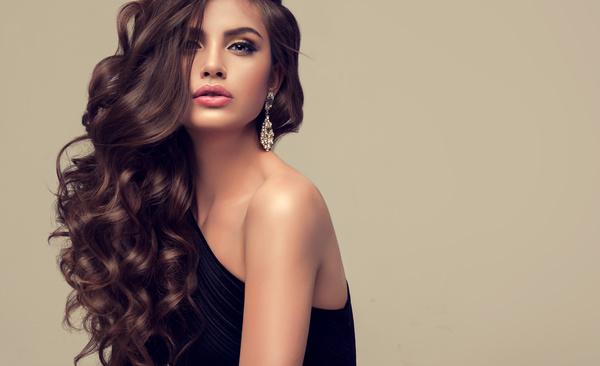 Beautiful hair Beauties model Stock Photo 10